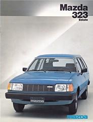 Mazda 323 Estate brochure 12-1981 (sjoerd.wijsman) Tags: auto cars car estate voiture 1981 vehicle mazda brochure fahrzeug 323 folleto prospekt mazda323 carbrochure opuscolo brochura 121981 broschyr autobrochure mazda323estate 323estate