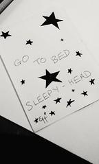 Sleepy-Head (elysianhygge) Tags: blackandwhite white black art bed tired sleepyhead elysianhygge