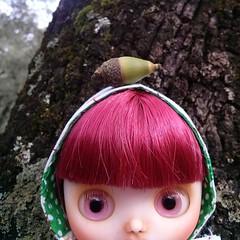 Es muy tímida pero va asomando. .  #Middieblythe #middieblythecustom #fungilandiacustom #blythe