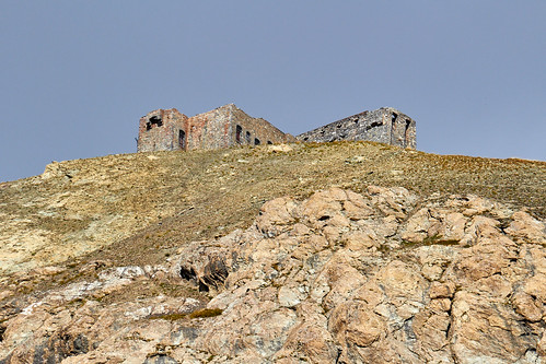 Batterie de Viraysse (2772 m) côté sud