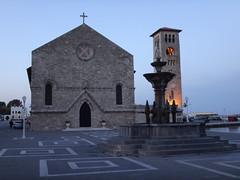 Iglesia de la Anunciacin. Rodas. Grecia (escandio) Tags: grecia mandraki rodas 2015 isladerodas rodasciudad