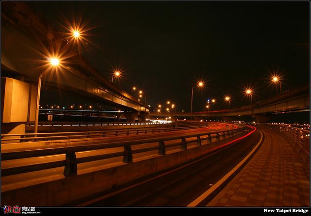 [攝影] 新北大橋夜景