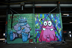 villa friekens R.I.P. (wojofoto) Tags: abandoned amsterdam graffiti rip noord urbex nol sinna wolfgangjosten sinnaone wojofoto villafriekens