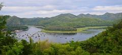 Far Far Away (wispycloudust) Tags: valley amazingthailand hiddengems bamboorafts huaikrathingreservoir unseenplacesthailand