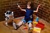 """I did it!!!"" :D (cute-little-dolls) Tags: boy proud toy happy robot miniature doll hellokitty tools rement petworks ruruko mechatrowego senchinen"