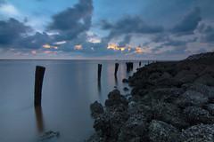 Bagan Pasir 3 (bugner gino) Tags: sunset landscape cloudy malaysia selangor bagan pasir tanjung karang
