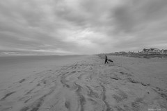 Final days of summer (danielritchiephoto) Tags: ocean travel sea summer sky blackandwhite sun seascape beach water monochrome beautiful beauty coast seaside newjersey sand waves explorer nj explore sombre stoneharbor exploration jerseyshore somber seashore bnw eastcoast