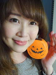 December 30, 2015 -Selfie (Pumpkin Chief) Tags: woman selfportrait female night self asian kate taiwan sp tainan pumpkinchief  sonywx500