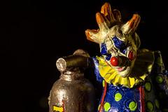 Killer Clown (No Talent Bum) Tags: killerclowns clowns halloween halloweenfigurines pvccharacters pvcfigurines macro macrophotography nikon northcarolina nc nikond5300 kenkoextensiontubes extensiontubes