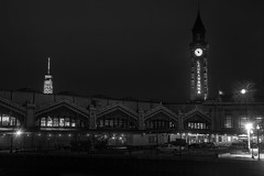 Almost Back To Normal (Nick Gagliardi) Tags: nj transit railroad hoboken newjersey night erie lackawanna dlw passenger depot skyline city architecture new jersey waterfront skyscraper