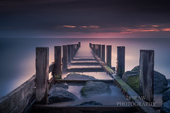 Vanishing point (289RAW) Tags: 289raw beach groyne long exposure seascpae