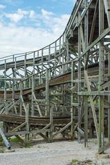 Beech Bend-5 (alexsabatka) Tags: beechbend amusementpark bowlinggreenky bowlinggreen kentucky rollercoaster kentuckyrumbler gci woodencoaster themepark ridewithace ace americancoasterenthusiasts