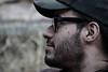 Christian (tresmele) Tags: portrait retrato cold desaturado desaturate gorra gafas glasses cap blur desenfoque bokeh nariz barba piel nose beard skin canoneos100d outside exterior park