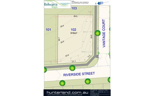 Lot 102 Riverside Street, Bolwarra Heights NSW 2320