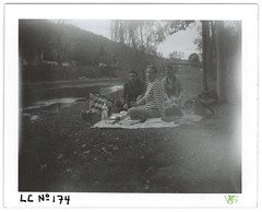LC No.174 (LANCEPHOTO) Tags: lc polaroid peelapart landcamera sepia1500 polapremium instant destijl abstract expiredfilm film4life impossibleproject belgium durbuy friends