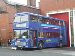 Preserved Stagecoach Manchester 15032 (H132GVM) 15102016b (Rossendalian2013) Tags: preserved bus manchester gmbuses gmbusessouth stagecoachmanchester dennis dominator northerncounties h132gvm magicbus