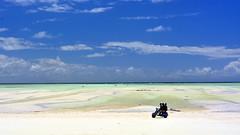 Paje Beach (sagimihaly) Tags: africa tanzania zanzibar summer vacation pajebeach paje indianocean ocean sand whitesand endlessblue beach blue