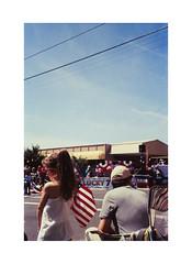 Parade (James Eleftherion) Tags: leica m3 50mm film slidefilm filmisnotdead rollei cr200 california jupiter3 arista homedeveloped e6 expired analog crescentcity epson v600 4thofjuly america flag parade patriots summer