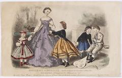 "Figurín de moda del ""Magasin Des Demoiselles"". 1865. Aguafuerte (Museo del Romanticismo) (Museo del Romanticismo) Tags: estampa moda magasindesdemoiselles adeleanaã¯stoudouze mariepreval espaã±a 724espes siglo xix"