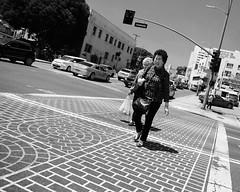 (Casey Lombardo) Tags: losangelesca dtla unionstation crosswalk pedestrians streetphotography street photos la bw bwphotography blackandwhite