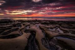 Labyrinth (Deliberate Exposure) Tags: lajolla california sandiego tidepools sunset rocks