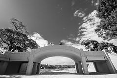 DSC01623 (Damir Govorcin Photography) Tags: walking bridge balmoral beach sydney blackwhite monochrome natural light zeiss 1635mm sony a7ii sand architecture clouds sky