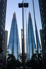 The Shard Reflection (sebastian_d01) Tags: shard london street symmetry symmetric reflection reflections