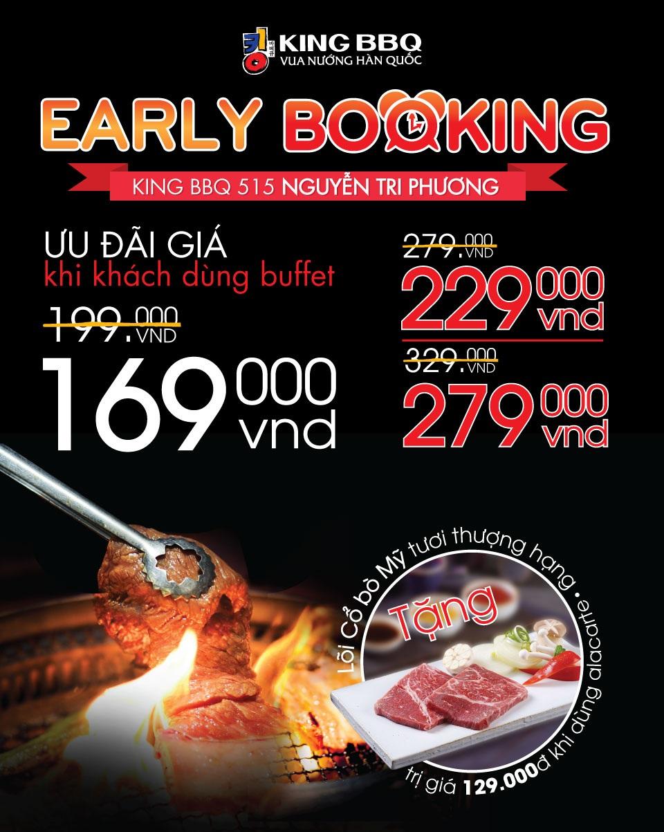 Early booking Nguyễn Tri Phương .VN