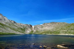 Snow Melt (Patricia Henschen) Tags: summitlake denvermountainparks park lake mountains alpine mtevansscenicbyway mtevans scenicbyway idahosprings colorado