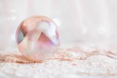 294/366: A crystal ball... (judi may - more off than on) Tags: 366the2016edition 3662016 day294366 20oct16 marble lace pink pretty bokeh dof depthoffield canon7d highkey reflection pastel macro