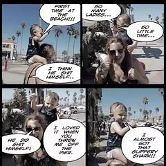 My first beach visit... (stanbstanb) Tags: lomics comics drinking himself slippery stroller