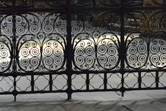 fence in a church (Hayashina) Tags: bordeaux france church fence hff