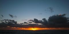 sunrise. kauai, hawaii 04361 (s.alt) Tags: hawaii hi usa 808 aloha hawaii america polynesia pacific island kahikinaakala sunrise sonnenaufgang clouds yellow orange blue kauai ocean nature natureunveiled sunup morgenrte dawn morgendmmerung morgengrauen sonne appear horizon morning panorama rise east eastside