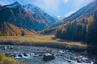 Fall in the Western Alps