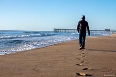 Walk this way (Sukmayadi) Tags: canon5d canonbringit canonusa canon photography landscape maryland oceancity walk sand ocean brach