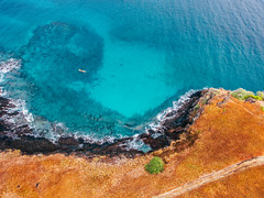 So Tom e Prncipe (ReinierVanOorsouw) Tags: reiniervanoorsouw reizen reiniernothere travel beyondbordersmedia sotomeprncipe saotomenprincipe atlanticocean sony africa afrika island islandlife travelling red blue contrast earlymorning rood blauw turquoise drone dji djiphantom aerial uitdelucht luchtfotografie dronephotography phantom3 sky airphoto skyphototopperspective topdown