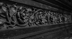 Carved Roses (Lawrence OP) Tags: dominicanhouseofstudies washingtondc friars carving wood chapel reredos roses