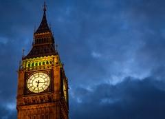 Big Ben (vrod2012) Tags: abigfave dramaticsky nightshot westminster internationallandmark england unitedkingdom cityscapes city london elizabethtower clocktower bigben
