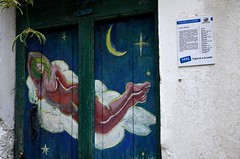 Valloria (110) (Pier Romano) Tags: valloria porte porta dipinta dipinte door doors painted imperia liguria italia italy nikon d5100 paese town dolcedo artisti pittori