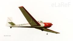G-BUFN Slingsby T.61F Falke Venture T.3 c/n 1967 (eLaReF) Tags: kemble england unitedkingdom gbufn slingsby t61f falke venture t3 cn 1967