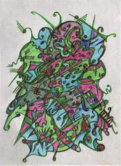 Goblin (darksaga66) Tags: bookofink penandink inkart art goblin face