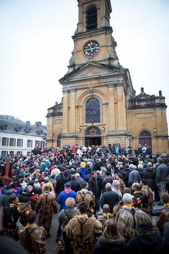 Benediction des animaux, Bouillon, Belgique