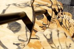 profiles on a stick (primemundo) Tags: plywood wood profiles magicmarker hands face dof