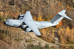 RAF A400M Atlas, Thirlmere, 15/11/2016 (TheSpur8) Tags: a400m heavy aircraft date uk landlocked lakedistrict lowlevel military skarbinski roughcrag 2016 anationality places transport