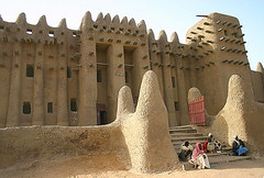 The great mosque, Djenn, Mali (Elena14u2012) Tags: africa mali djenn unesco adobe mosque religion architecture