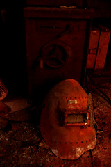 eIMG_3855 (tantan_haikyo) Tags:  works factory  ruins urbanexploration urbex  red