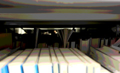 Books (pips.armstrong) Tags: posterized books library manchester