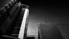 untitled (monomarv) Tags: piano music love blackandwhite bw