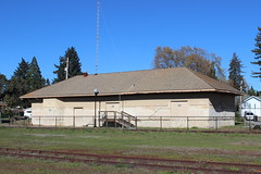 Freight Depot, Healdsburg (New York Big Apple Images) Tags: healdsburg sonoma railroad station depot northwestern pacific