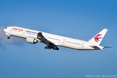 [CDG] China Eastern Boeing 777-300ER (Timothe Savour) Tags: china eastern boeing 777 777300er b2003